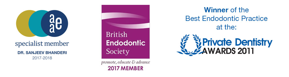Winner of the Best Endodontic Practice by the Private Dentistry Awards